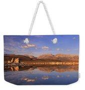 Tufa Shores At Dawn Weekender Tote Bag by Sean Sarsfield