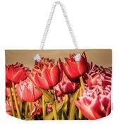 Tulip Fields Weekender Tote Bag by Anjo Ten Kate