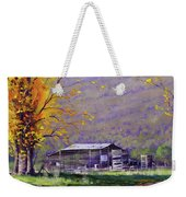 Tumut Valley Farm Shed Weekender Tote Bag