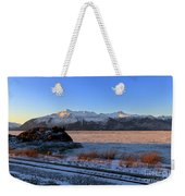 Turnagain Arm And Kenai Mountains Alaska Weekender Tote Bag