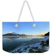 Turnagain Arm In Winter Alaska Weekender Tote Bag