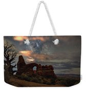 Turret Arch  And Tree Weekender Tote Bag