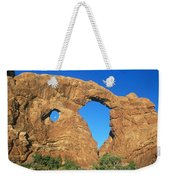 Turret Arch With Moon Weekender Tote Bag