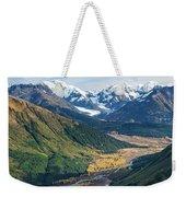 Twentymile Glacier Weekender Tote Bag by Tim Newton
