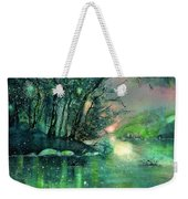 Twilight At The River Rhine Weekender Tote Bag