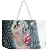 Twilight - Woman Abstract Art Weekender Tote Bag
