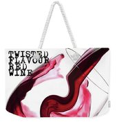 Twisted Flavour Red Wine Weekender Tote Bag by ISAW Company