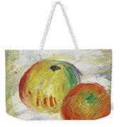 Two Apples, 1875 Weekender Tote Bag