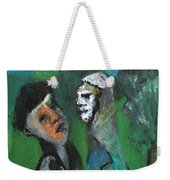 Two Men In A Field Weekender Tote Bag