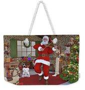Two Nights Before Christmas Weekender Tote Bag