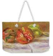 Two Pomegranates Weekender Tote Bag