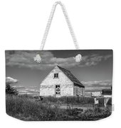 Two Sheds In Blue Rocks #01 Weekender Tote Bag