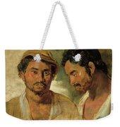Two Studies Of A Man, Head And Shoulders Weekender Tote Bag