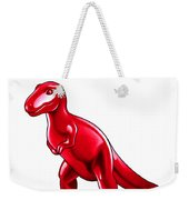 Tyrannosaurus Cartoon Weekender Tote Bag