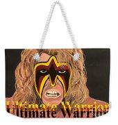Ultimate Warrior Writing Version Weekender Tote Bag