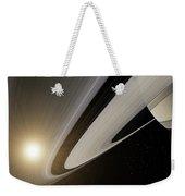Under The Rings Of Saturn Weekender Tote Bag