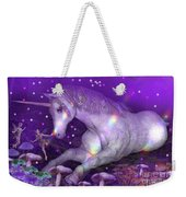 Unicorn Forest Weekender Tote Bag