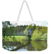 Union Chain Bridge At Horncliffe On River Tweed Weekender Tote Bag