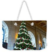 Union Station Decorates For Christmas In Kansas City Weekender Tote Bag