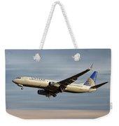 United Airlines Boeing 737-824 Weekender Tote Bag