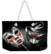 Unmasking Passions Weekender Tote Bag