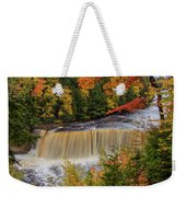 Upper Tahquamenon Autumn Colors -0007 Weekender Tote Bag