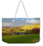 Upper Wensleydale And Lovely Seat From Hawes In Yorkshire Dales Weekender Tote Bag
