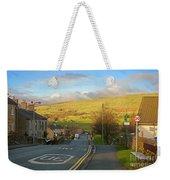 Upper Wensleydale From Hawes Yorkshire Dales National Park Weekender Tote Bag