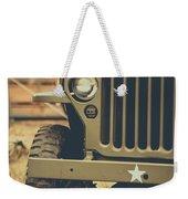Us Army Jeep World War II Weekender Tote Bag