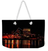 Uss Midway At Night Weekender Tote Bag