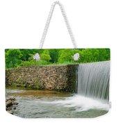 Valley Creek Waterfall Panorama Weekender Tote Bag