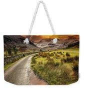 Valley Sunset Snowdonia Weekender Tote Bag