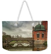Vallo Castle Wooden Moat Bridge Weekender Tote Bag
