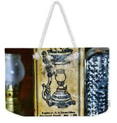 Vapo-cresolene Vaporizer Liquid Poison Original Packaging Weekender Tote Bag