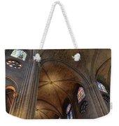 Vaults Of Notre Dame De Paris Before The Fire Of 2019 Weekender Tote Bag