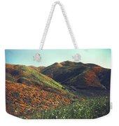 Velvet Hills Weekender Tote Bag