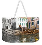 Venice Pause In The Evening Weekender Tote Bag