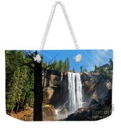 Vernal Fall, Yosemite National Park Weekender Tote Bag