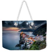 Vernazza Cityscape Weekender Tote Bag