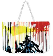 Vertical Sunset Weekender Tote Bag
