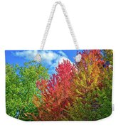 Vibrant Autumn Hues At Cornell University - Ithaca, New York Weekender Tote Bag