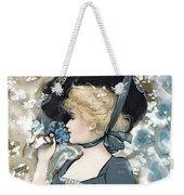 Victorian Lady Weekender Tote Bag