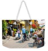 Vietnam Street Weekender Tote Bag