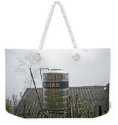 Vietnam Style Water Tower Weekender Tote Bag