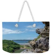 View From Pennard Castle Square Weekender Tote Bag