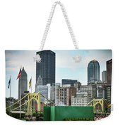 View From The Stadium Weekender Tote Bag