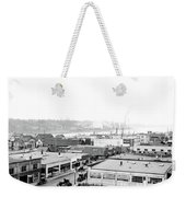 View Nw Over Olympia From Elks Building On Capitol Way 1929 Weekender Tote Bag by Vibert Jeffers
