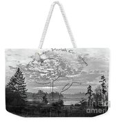 View Of Boston Harbor Weekender Tote Bag by Unknown
