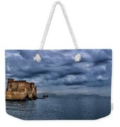 View Of Castel Dell Ovo  Weekender Tote Bag