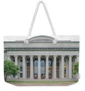 View Of Massachusetts Institute Weekender Tote Bag